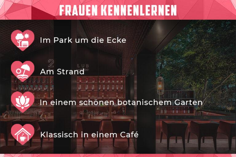 Frauen kennenlernen im cafe